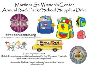 Backpack Donation Drive