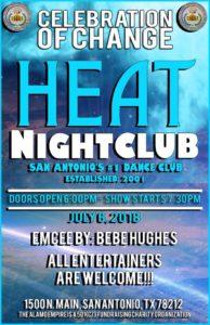 Celebration of Change @ HEAT Nightclub   San Antonio   Texas   United States